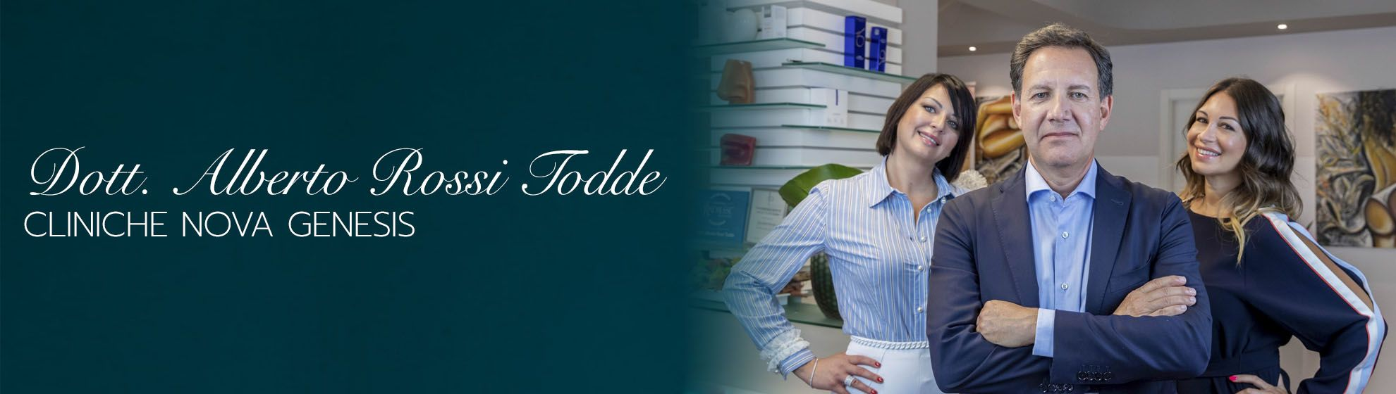 Dott. Alberto Rossi Todde Cliniche Nova Genesis