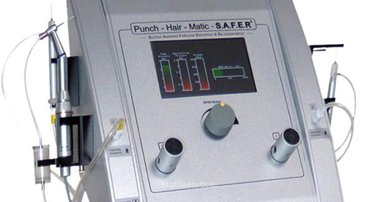 SAFER®, el sistema automatizado de trasplante capilar n.º 1 mundial