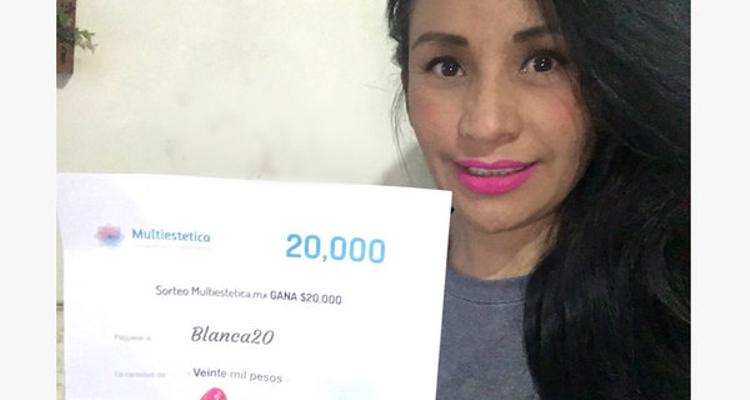 Ganadora del sorteo: Blanca20 es la afortunada de diciembre