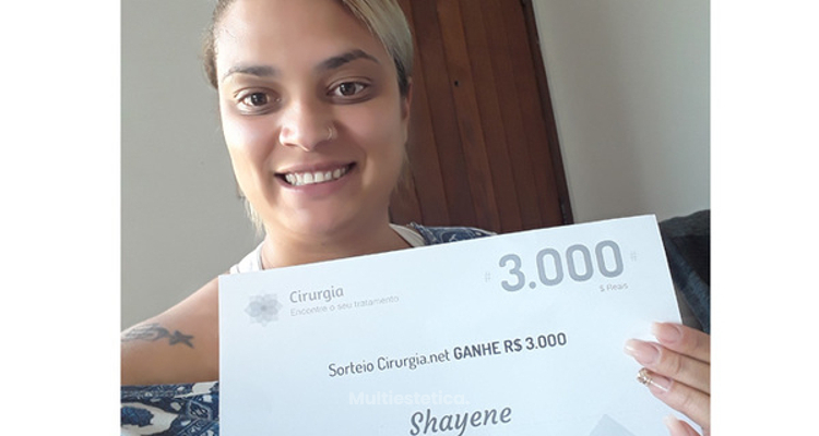 Ganadora del sorteo de julio: Shayene