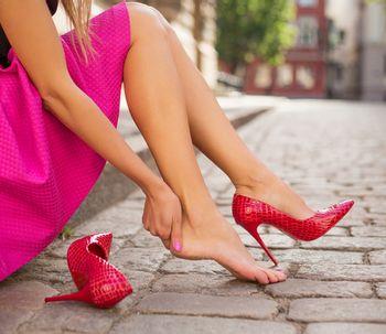 Lifting de pies con ácido hialurónico