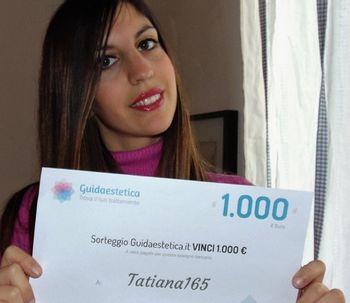 Tatiana165 es la ganadora de febrero