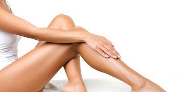 Luce unas piernas sanas y bonitas