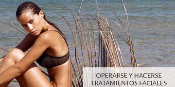 Operarse y hacerse tratamientos faciales en verano, ¿sí o no?