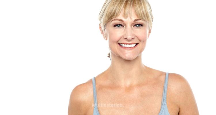 Rejuvenecer el escote: piel uniforme sin machas ni arrugas