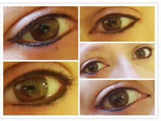 Micropigmentación de ojos-párpado superior y párpado inferior