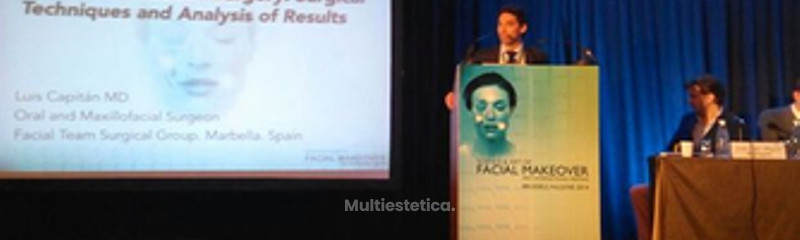 Dr. Luis Capitán at FacialMakeover 2014