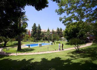El jardín del hospital