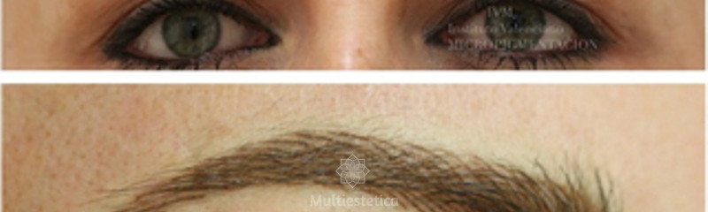 Micropigmentación de cejas con técnica realística