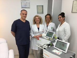 Nuestro director médico Dr. Alvarez Marín y el equipo médico Remodelación Corporal