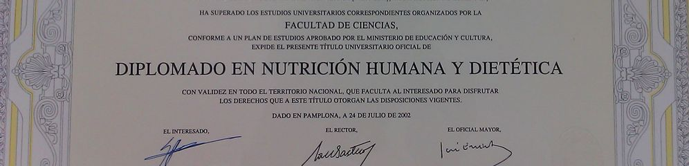 Nutricionista Yago Perez