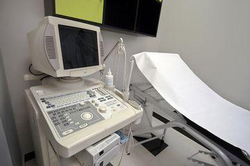 Sala de exploración ginecología y obstetricia