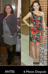 Antes y después dietas