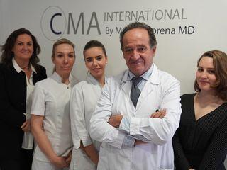 El Equipo del Doctor Mato Ansorena en su sede de Madrid