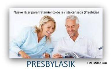 Rejuvenecimiento ocular Presbylasik
