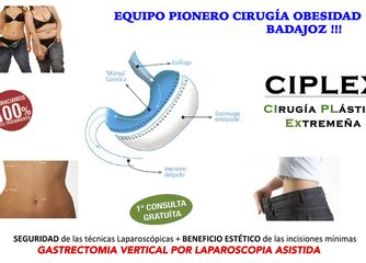 Cirugía obesidad clínica ciplex