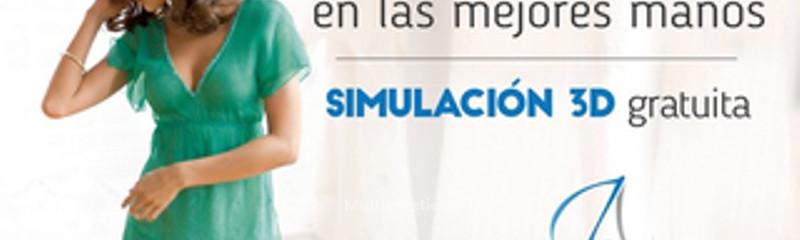 Aumento de pecho con Simulación 3D