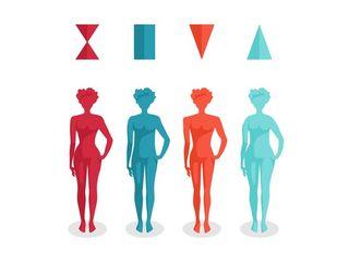 Tipos de cuerpo de la mujer