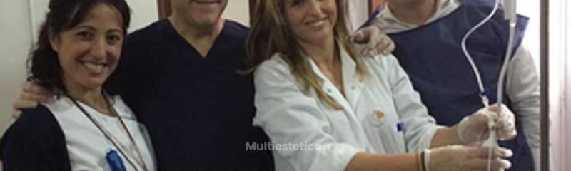Nuestro director médico Dr. Alvarez Marín y el equipo ELIPSE en Las Palmas