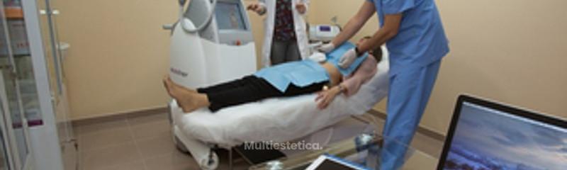 Preparando un tratamiento de UltraShape abdominal