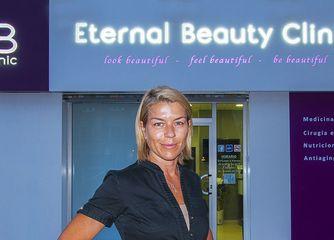 Dunia Sánchez. Directora de Eternal Beauty Clinic