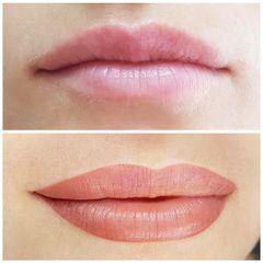 Antes y después micropigmentación