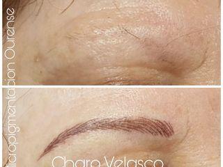 Antes y después Micropigmentacion