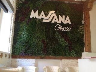 Recepción - Clínica Massana en calle López Gómez, Valladolid