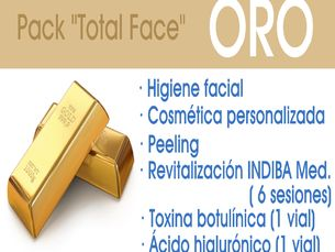 Pack total Face Oro