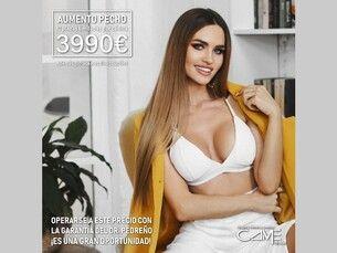 Aumento de pecho por 3990€