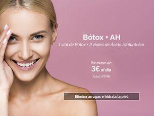 Botox + Ácido hialurónico por menos de 3€ al día