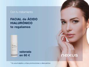 Regalo crema Restylane con tu tratamiento facial de Ácido Hialurónic