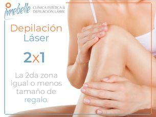 2X1 en depilación láser
