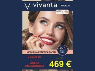 2 viales de ácido hialurónico por 469€