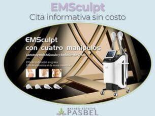 ¡EMSculpt! Cita informativa sin coste