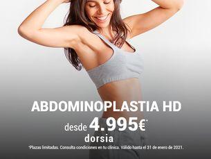 Consigue un abdomen plano