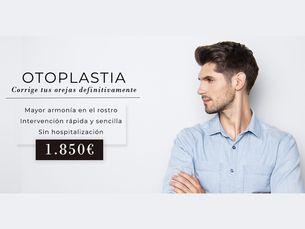 Otoplastia 1850 € todo incluido (IVA también)