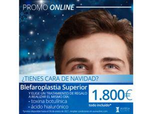Blefaroplastia superior (cirugía de párpados) por 1.800€