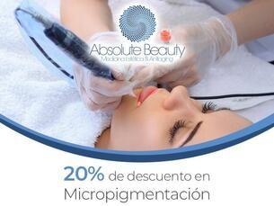 20% de descuento en Micropigmentación