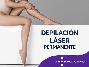 Depilación láser permanente