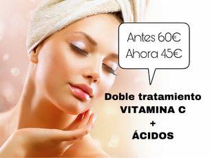 """Peeling de ácidos y vitamina C  """"Renovación celular, Despigmentante"""""""