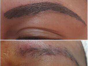 Micropigmentación labios y cejas pelo a pelo