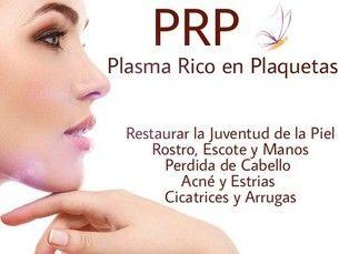 Plasma Rico en Plaquetas o P.R.P.