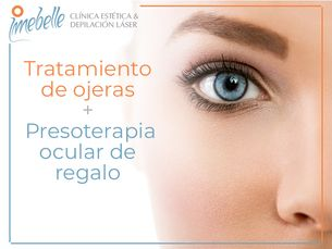 Tratamiento de ojeras + Presoterapia  ocular de regalo
