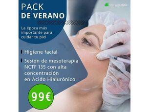 Higiene facial + Sesión de Mesoterapia NCTF 135
