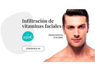 Infiltración de vitaminas faciales