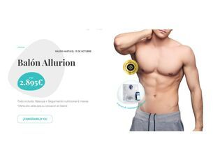 Balón Allurion (Seguimiento nutricional 6 meses)