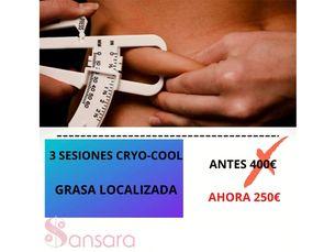 3 sesiones de Cryo Cool por 250€