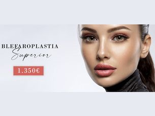 Blefaroplastia superior por 1350€