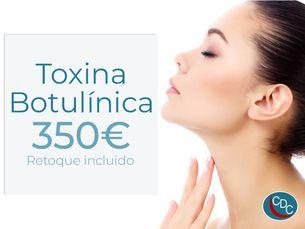 Promoción Toxina Botuínica con retoque incluido
